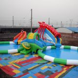 Giant inflatable water park ax-06