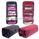"4 COMPARTMENT ""ROLL N' GO"" COSMETIC/TOILETRY/JEWELRY BAG                                                                         Quality Choice"