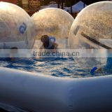 2016 Popular water ball for pool games,big water walking ball,inflatable water running ball