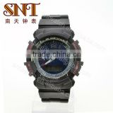 SNT-SP038 fashion custom analog sporty lcd watch