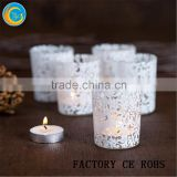 Frosted Mini Mason Jar Candle Holders / Candle Jar/ Glass Vases / Glass Wedding Centerpieces,