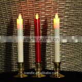 battery operated moving flame flameless led decorative taper candle