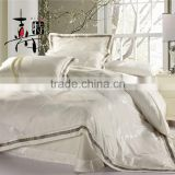 4 Pcs Luxury hadmade embroider jacquard tencel bedding set bed sheet                                                                         Quality Choice