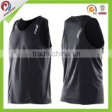 silk printing logo blank gym mens stringer singlet wholesale, men singlet                                                                         Quality Choice