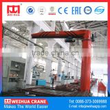 Heavy Load 10 Ton Electric Jib Crane Suppliers With Chain Hoist