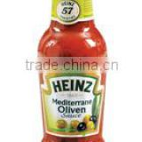 Heinz mediterranean sauce 250ml glass bottle