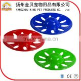 Pet training accessories plastic frisbee disc for dog playing