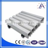 Anodize clear extruded aluminum trim