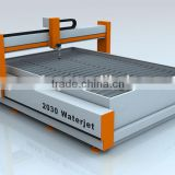 High pressure water jet cutting machine ,CNC waterjet cutting for metal/stone/glass /alloy                                                                         Quality Choice