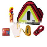 6 PCS auto safety kit roadside car emergency kit with Foam fire extinguisher