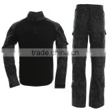 US army suit body combat clothes black tactical clothing