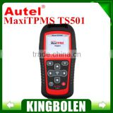 100% Original Autel MaxiTPMS TS501 TPMS Tool with OBDII Adapters Tyre Pressure Monitoring System TPMS Relearn