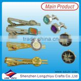 Cuff links wholesale alibaba crystal cufflink and tie clip set wholesale tie pins custom tie bars