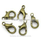 JF9712 Gold/Rhodium/Black/Silver Lobster Clasps Claw Clasp Jewelry Findings