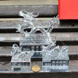 Business Gift Crystal animal crystal dragon for or Office home Decoration