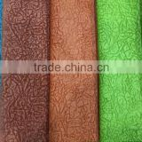 88%poly/12%Nylon embossing fabric made for upholstery