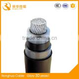single core two layer pvc insulated aluminium conductor power supply cable
