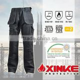 Xinke Wholesale cotton fireproof match mens cargo work pants with six side pockets                                                                         Quality Choice