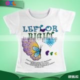 Hot selling high level new design delicated appearance kid cotton t-shirt