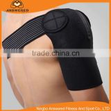 Light Weight Adjustable Gym Sports Single Shoulder Brace Support Strap Wrap Belt Band Pad for Men and Women