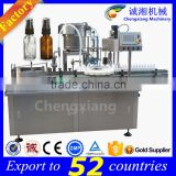 15 years factory PLC controlled auto spray filling machine,pet bottle filling and sealing machine