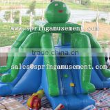 Top sale Octopus classical inflatable jumper and slide combo castle for kids SP-CM033