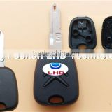 High Quality Citroen C2 C3 C4 Remote Key Shell Picasso C5 C6 Berlingo Transponder Key(old style)