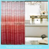 Factory Rotary Printing Mildew Resistant fabric shower curtain, home goods shower curtains