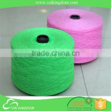 Specialized QC team 65% cotton 35% polyester 70/30 20s colour open end/oe recycle cotton yarn for socks