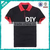 OEM men women polo shirt embroidery, work polo shirt embroidery DIY, color match polo shirt embroidery (lyt080035)