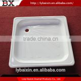 Gold supplier China smc shower tray,steel shower tub,for thread rolling die enameled steel shower tray
