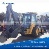 Hot Sale 4X4 Drive Small Garden Tractor Loader Backhoe