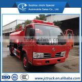DongFeng 4X2 single row Fire fighting Flushing truck 3000 liters capacity of special fire truck, small fire truck