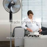 GOOD QUALITY RECHARGEABLE FAN WITH LED LIGHT Pedestal fan cheap price FACTORY                                                                         Quality Choice