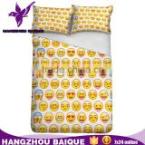 Twin Size Fancy 3D Emoji Printed Bedding Sets                                                                         Quality Choice