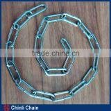 Q235 Galvanized Long Link Chain, British Ordinary Mild Steel Link Chain,Normal welded Po