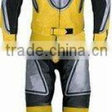 DL-1306 Racing Motorbike Suit in Leather , Biker Suit , Leather Sports Wears
