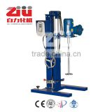 High speed lab mixer/disperser for paint/pigment/dye