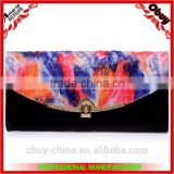 New design clutch bag women hand genuine leather wallet                                                                         Quality Choice
