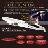 Professional and Reliable 360 degrees hair straightener flat iron Compatible with world power supply voltage 100-240V