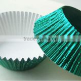 heat resistant greaseproof aluminium foil muffin baking cups, paper cupcake liner wrapper
