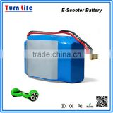 Flat China segway 36v 4.4ah 158wh lithium battery for escooter