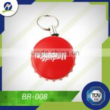 Newest Bottle Cap Shape Badge Holder, Plastic Retractable Badge Reel