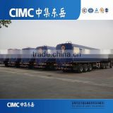 CIMC 25000 to 70000 litres 3 axles oil fuel tanker semi truck trailers