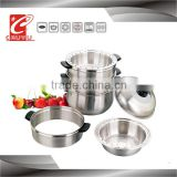 Stainless steel high quality stainless steel bamboo steamer on sale