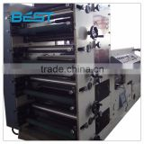 The latest paper cup printing machine suitable for the production of paper cups in a pipelined fashion factory
