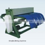 Simple slitting machine accessory equipment