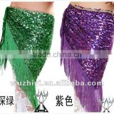 Qiancai Wuchieal Belly dance accessories bellydance belts, sequin belly dance hip scarf (QC0435)