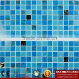 IMARK Quality Gold Star Glass Mosaic Tile Mix Quartz Glass Mosaic Tile Kitchen Tile Bathroom Tile Wall Art Mosaic Tile