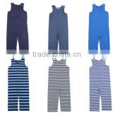 2016 spring summer knit stripe baby romper manufacture organic cotton pajamas Organic Cotton Baby Rompers Wholesale Baby Clothes